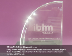 The IBTM World Tech Watch Award 2018