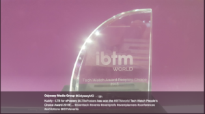 The IBTMworld Award